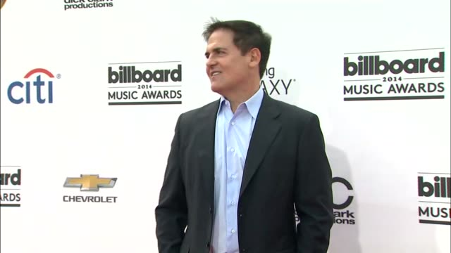 Mark Cuban at the 2014 Billboard Music Awards Arrivals at the MGM Grand Garden Arena on May 18 2014 in Las Vegas Nevada
