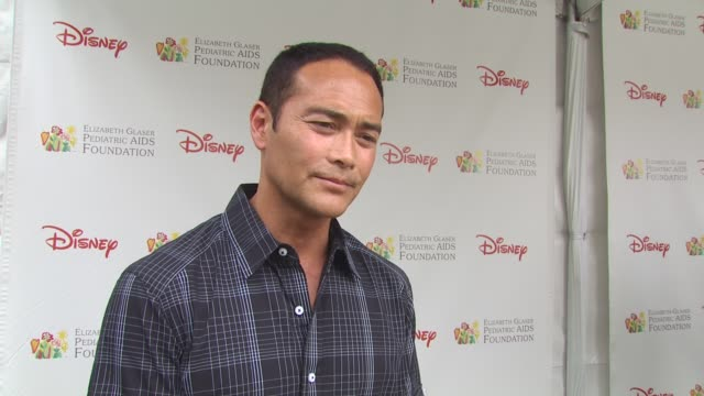 mark dacascos at the 21st annual 'a time for heroes' celebrity picnic benefit at los angeles ca - a time for heroes stock videos & royalty-free footage