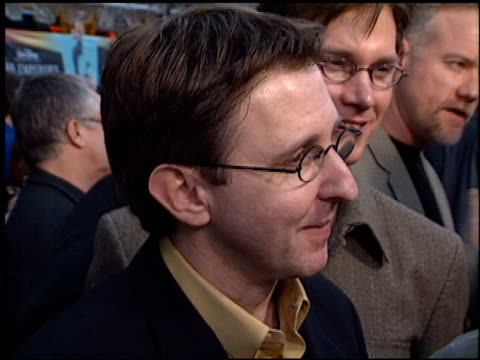 mark dindal at the premiere of 'the emperor's new groove' at the el capitan theatre in hollywood, california on december 10, 2000. - el capitan theatre stock videos & royalty-free footage