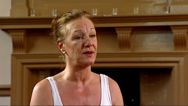 aunt appeals for calm at vigil and denies intimidation allegations london int carole duggan interview sot an emotional reaction to the verdict which... - aunt stock videos and b-roll footage