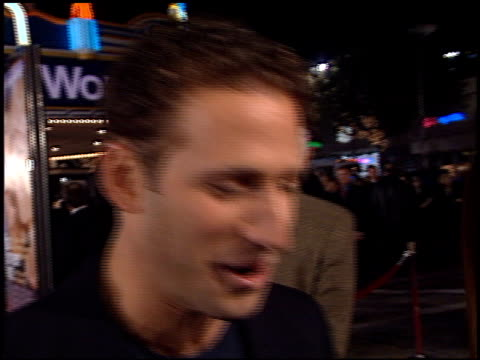 mark feuerstein at the 'what women want' premiere at the mann village theatre in westwood, california on december 13, 2000. - regency village theater stock videos & royalty-free footage