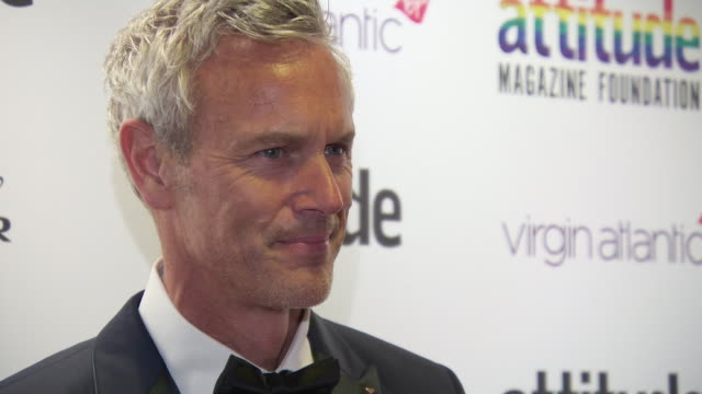 mark foster at virgin atlantic attitude awards powered by jaguar 2019 at the roundhouse camden at the roundhouse on october 9, 2019 in london,... - attitude stock videos & royalty-free footage