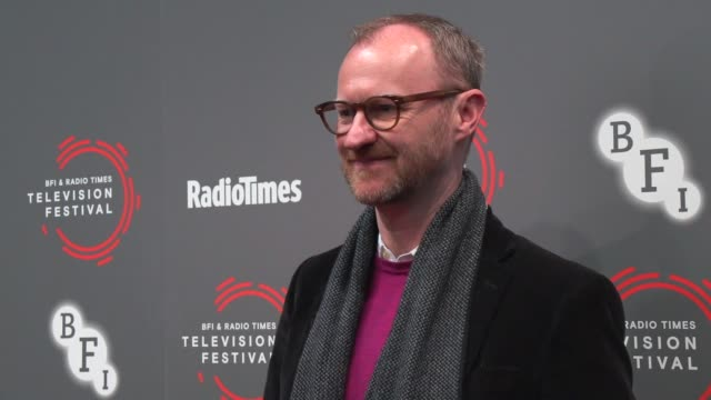 GBR: BFI & Radio Times Television Festival 2019 - 'In Conversation: Mark Gatiss on Ghost Stories'