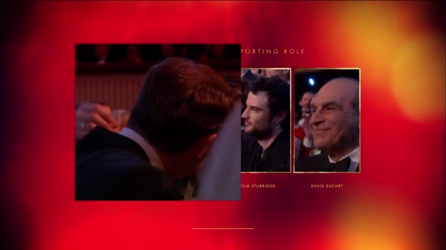 mark gatiss three days in the country best supporting actor at the olivier awards with mastercard at the royal opera house on april 04 2016 in london... - best supporting actor stock videos & royalty-free footage