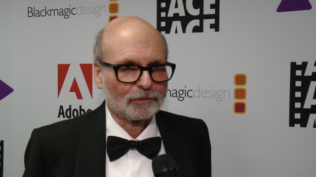 INTERVIEW Mark Goldblatt on what does this award mean to him at 68th Annual ACE Eddie Awards in Los Angeles CA