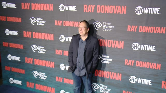 mark gordon at showtime and time warner cable celebrate season two of ray donovan in los angeles ca - showtime video stock e b–roll