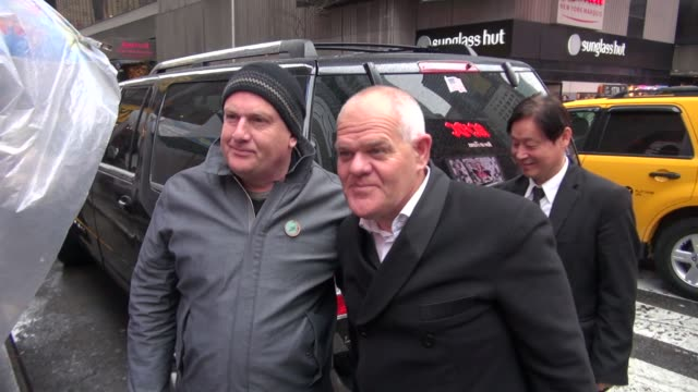 mark hadlow and peter hambleton at the vh1 studios in new york ny on 12/7/12 - vh1 stock videos & royalty-free footage