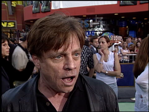 mark hamill at the premiere of 'the hulk' at universal amphitheatre in universal city, california on june 17, 2003. - universal city video stock e b–roll