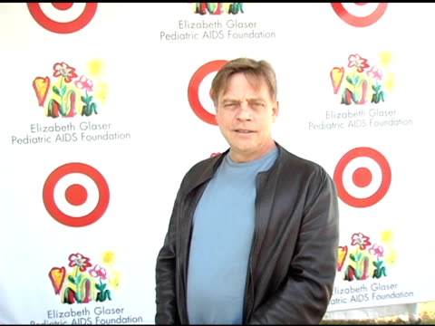 mark hamill at the target 'a time for heros' celebrity carnival to benefit the elizabeth glaser pediatric aids foundation at the wadsworth theatre in... - アタイムフォーヒーローズ点の映像素材/bロール