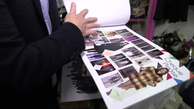 Mark Heyes the man behind the fashion for ITV's Lorraine takes us through a tour of how he organises what people wear on the show