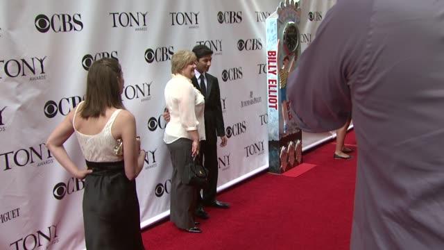 Mark Indelicato at the 63rd Annual Tony Awards Red Carpet at New York NY