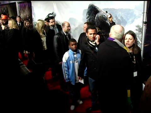 Mark John Jefferies at the 'King Kong' New York Premiere at Loews EWalk and AMC Empire Cinemas in New York New York on December 5 2005