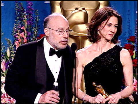 mark jonathan harris at the academy awards 2001 pressroom 1 of 3 at los angeles - 73rd annual academy awards stock videos & royalty-free footage