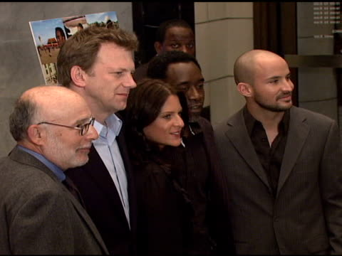 Mark Jonathan Harris Ted Braun Cathy Schulman Don Cheadle and Adam Sterling at the 'Darfur Now' Premiere at the Paley Center for Media in New York...