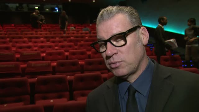 mark kermode on the british nominations, 'skyfall', the oscars at bafta nominations 2013 at bafta on january 9, 2013 in london, england. - マーク カルモード点の映像素材/bロール