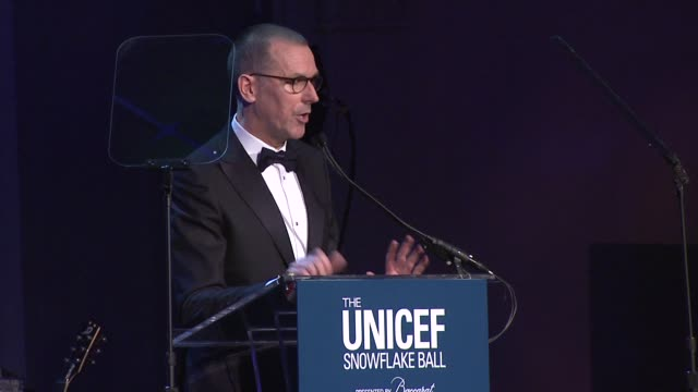 mark lee on seeing the hard work and dedication of the unicef team on the field, and thanks unicef for giving him the opportunity to see that at the... - cipriani manhattan stock videos & royalty-free footage