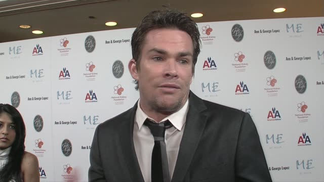 Mark McGrath on supporting the foundation and what makes George Lopez a humanitarian at the 29th Annual The Gift of Life Gala at the Hyatt Regency...