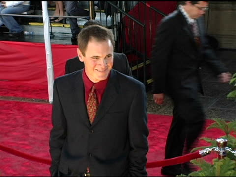 mark moses at the 2005 people's choice awards arrivals at the pasadena civic auditorium in pasadena california on january 10 2005 - pasadena civic auditorium stock videos & royalty-free footage