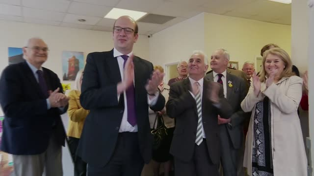 mark reckless quits ukip to join conservatives; mark reckless quits ukip to join conservatives; 9.3.2017 wales: pontypool: int douglas carswell mp... - mid wales stock videos & royalty-free footage