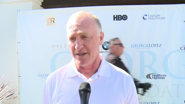 INTERVIEW Mark Rolston on being a part of today on being involved in the organization on golfing at the 10th Annual George Lopez Foundation Celebrity...