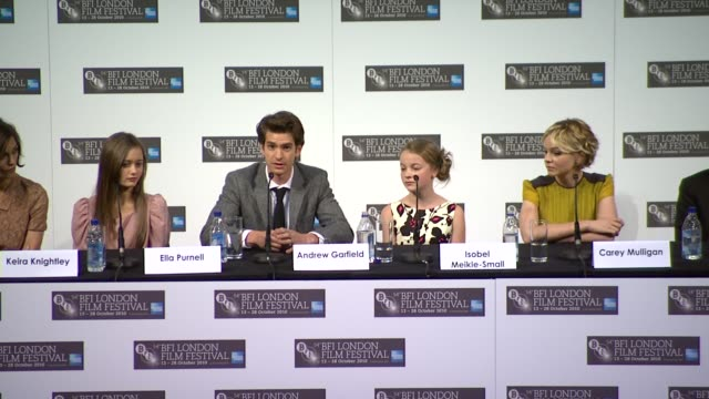 mark romanek on how the cast and crew bonded over love of the book interview alex garland on the film and the book interview andrew garfield on how... - kazuo ishiguro stock videos & royalty-free footage
