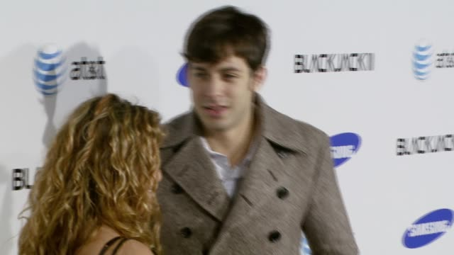 mark ronson at the samsung blackjack ii launch party at beso in los angeles california on november 14 2007 - blackjack stock videos and b-roll footage
