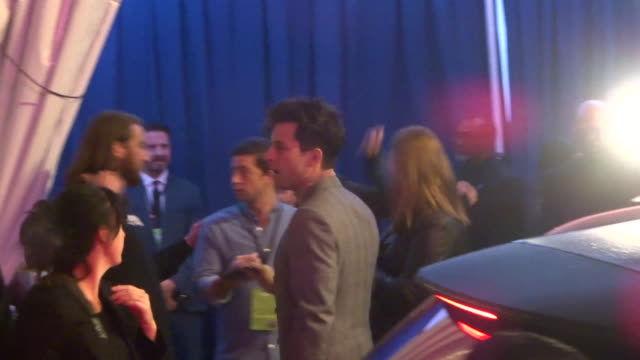 mark ronson outside the spies in disguise premiere at el capitan theatre in hollywood in celebrity sightings in los angeles, - el capitan theatre stock videos & royalty-free footage