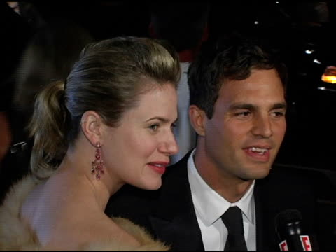 mark ruffalo and wife sunrise ruffalo at the 12th annual diversity awards honoring diversity in television and the cinematic arts arrivals at the... - beverly hills hotel stock videos and b-roll footage