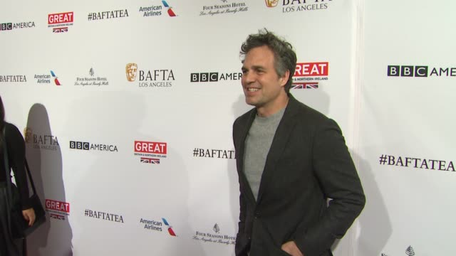 mark ruffalo at the bafta los angeles awards season tea party at four seasons hotel los angeles at beverly hills on january 09 2016 in los angeles... - mark ruffalo stock videos and b-roll footage