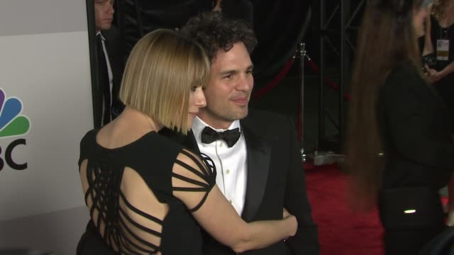mark ruffalo at the nbc universal's 68th annual golden globes after party at beverly hills ca - mark ruffalo stock videos and b-roll footage