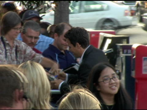 mark ruffalo with fans at the 'we don't live here anymore' los angeles premiere arrivals at director's guild of america in hollywood, california on... - director's guild of america stock videos & royalty-free footage