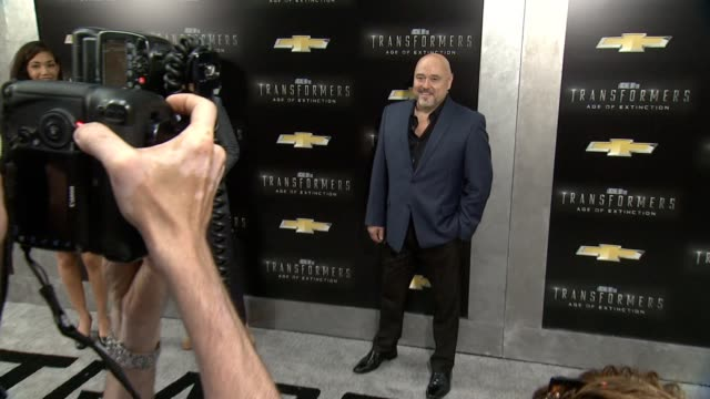 """mark ryan at """"transformers: age of extinction"""" new york premiere at ziegfeld theatre on june 25, 2014 in new york city. - new age stock videos & royalty-free footage"""
