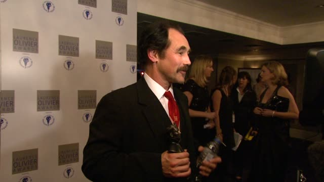Mark Rylance at the 2010 Laurence Olivier Awards at London England