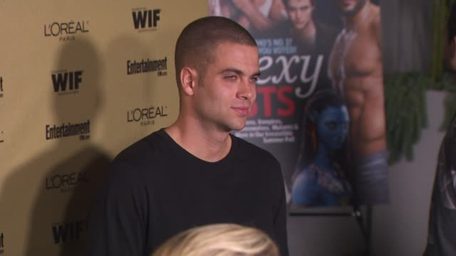 mark salling at the entertainment weekly and women in film pre-emmy party at west hollywood ca. - pre emmy party stock videos & royalty-free footage
