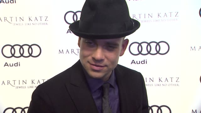 Mark Salling on kicking off Golden Globe week at this party at the Audi And Martin Katz Celebrate The 2012 Golden Globe Awards in West Hollywood CA