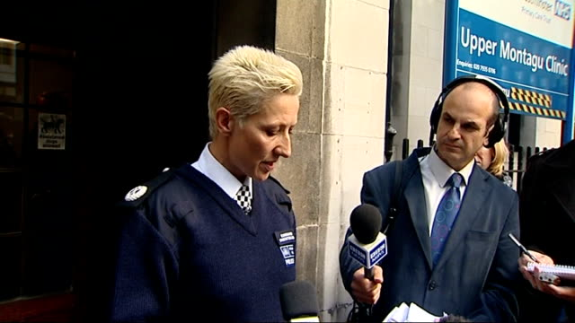 stockvideo's en b-roll-footage met lawful killing verdict returned; london: westminster coroner's court: commander christine jones reading statement outside court sot - the object of... - lijkschouwer