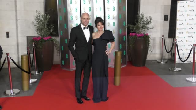 mark strong attends the ee british academy film awards 2020 after party at the grosvenor house hotel on february 02 2020 in london england - british academy film awards stock videos & royalty-free footage