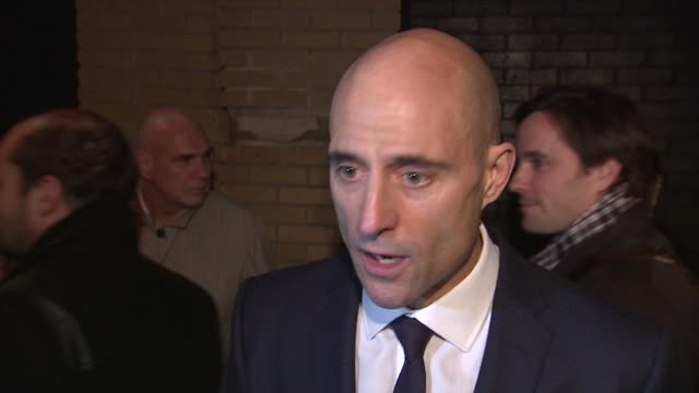 mark strong on the feedback of the film, the excitement around it already in the u.k. on what this story is about, what might surprise viewers. on... - gary oldman stock videos & royalty-free footage