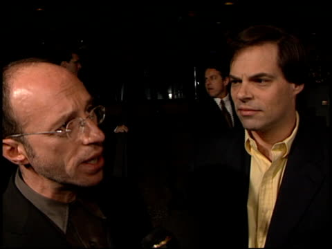 mark urman at the 'dogma' premiere at harmony gold theater in hollywood, california on november 9, 1999. - harmony gold preview theatre stock videos & royalty-free footage