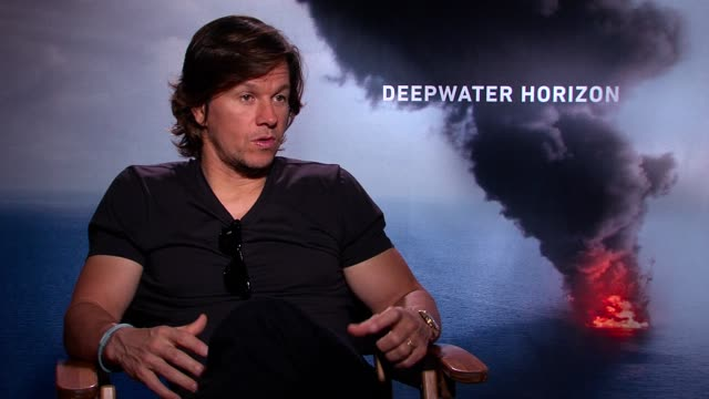 Mark Wahlberg about his latest movie 'Deepwater Horizon' and how he misses his family while he's away shooting new movies
