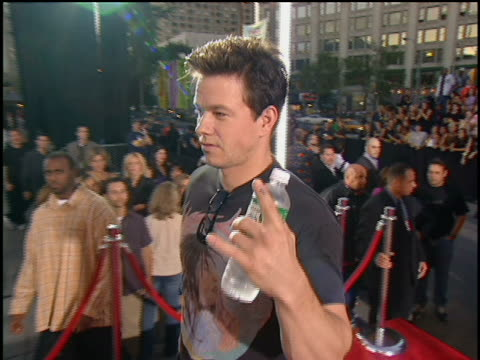 Mark Wahlberg arriving at Lincoln Center for the 2001 MTV MTV Video Music Awards The MTV Video Music Awards are held at the Metropolitan Opera House...