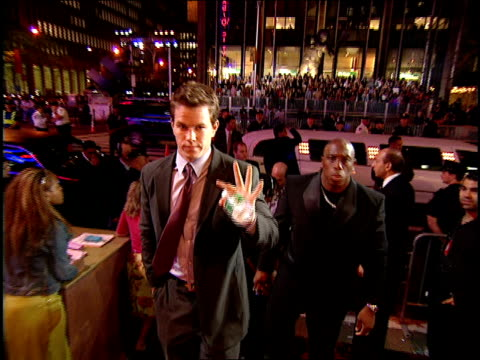 Mark Wahlberg Arriving to the 2000 MTV Video Music Awards Red Carpet