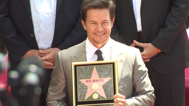 Mark Wahlberg at the Mark Wahlberg Honored With A Star On The Hollywood Walk Of Fame at Hollywood CA