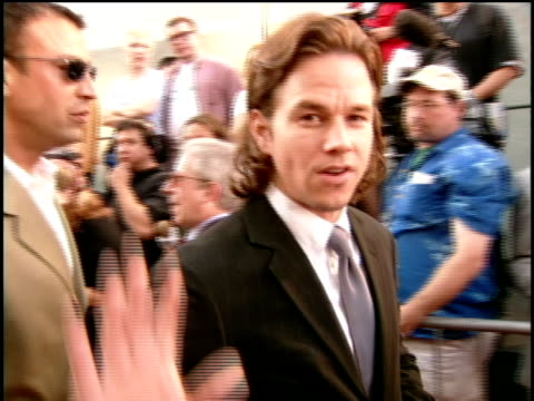 Mark Wahlberg on the red carpet of the 2000 MTV Movie Awards