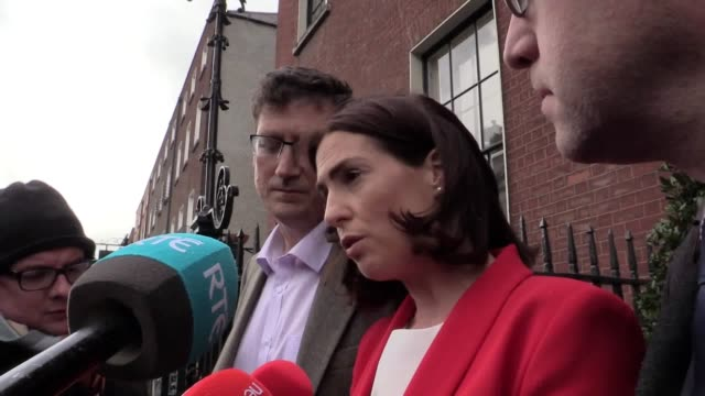 mark zuckerberg has assured irish politicians he will work with governments to establish new policies in a bid to regulate social media. eamon ryan,... - new stock videos & royalty-free footage