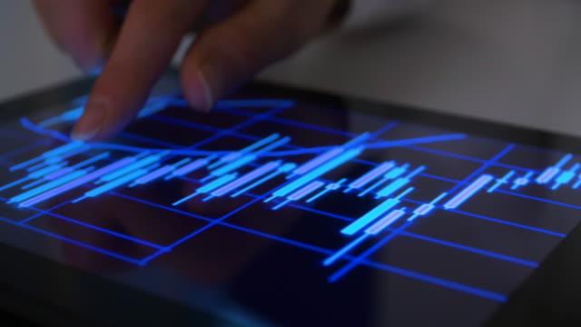 market data analysis - financial technology stock videos & royalty-free footage