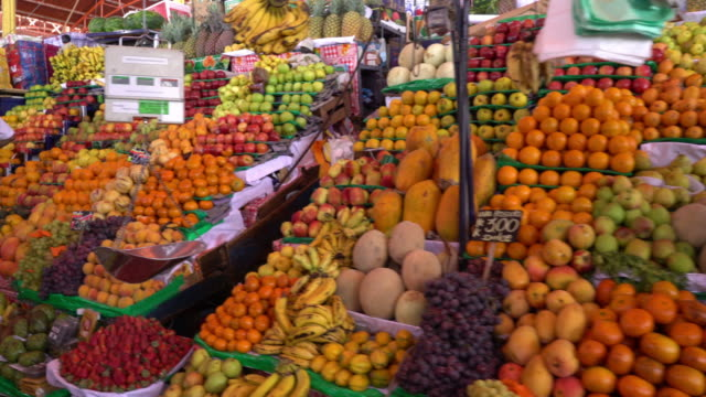 market in arequipa, peru - market stock videos and b-roll footage