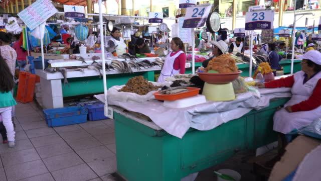 Market in Arequipa, Peru