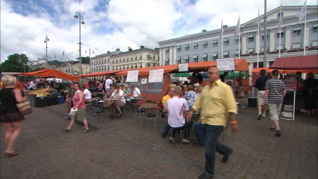 Market Seating, Helsinki, Finland