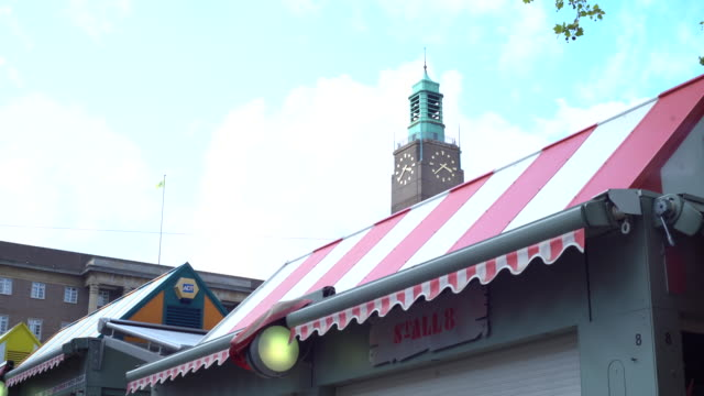 market stall - awning stock videos & royalty-free footage